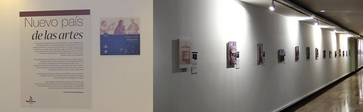 Exposición Nuevo País de las Artes