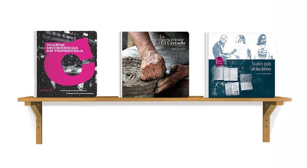 Banesco llevará dos libros de su Fondo Editorial a la FILCAR 2017