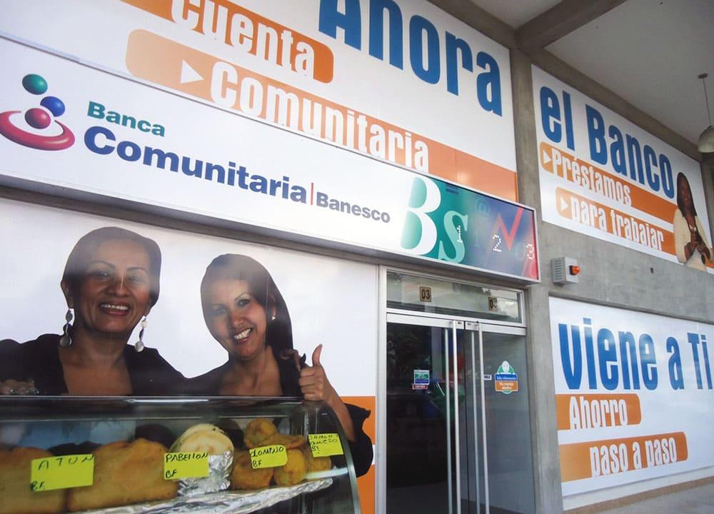 Banca Comunitaria Banesco incrementó los montos de los microcréditos