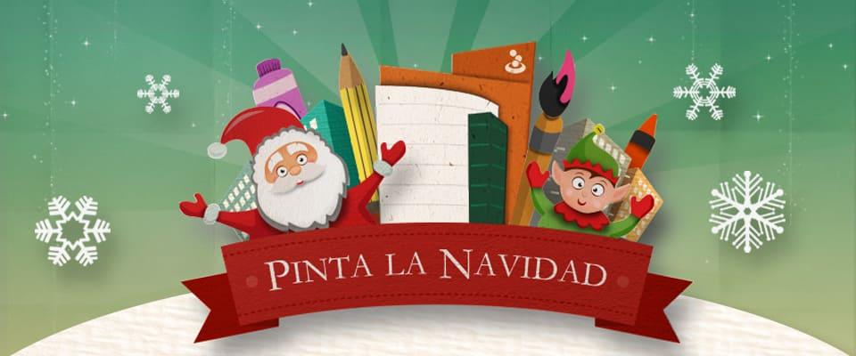 Imagen alusiva a la Campaña Pinta la Navidad