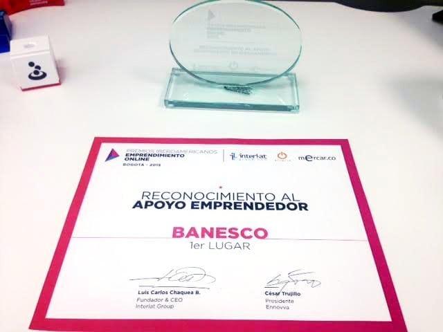 Programa de Microempresarios de Banesco ganó en Premios Iberoamericanos de Emprendimiento Online