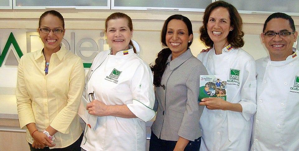 Un grupo de chefs participó en el Programa de Microempresarios de Banesco
