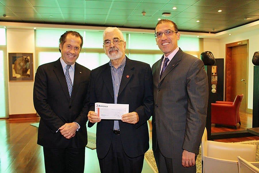 Campaña solidaria de Banesco por Apure y Táchira sumó Bs. 1,76 millones fueron entregados a Fe y Alegría
