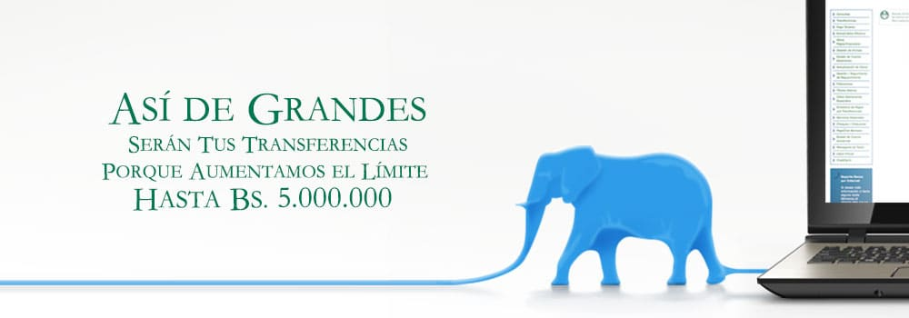 Aumentamos el límite hasta 5.000.000