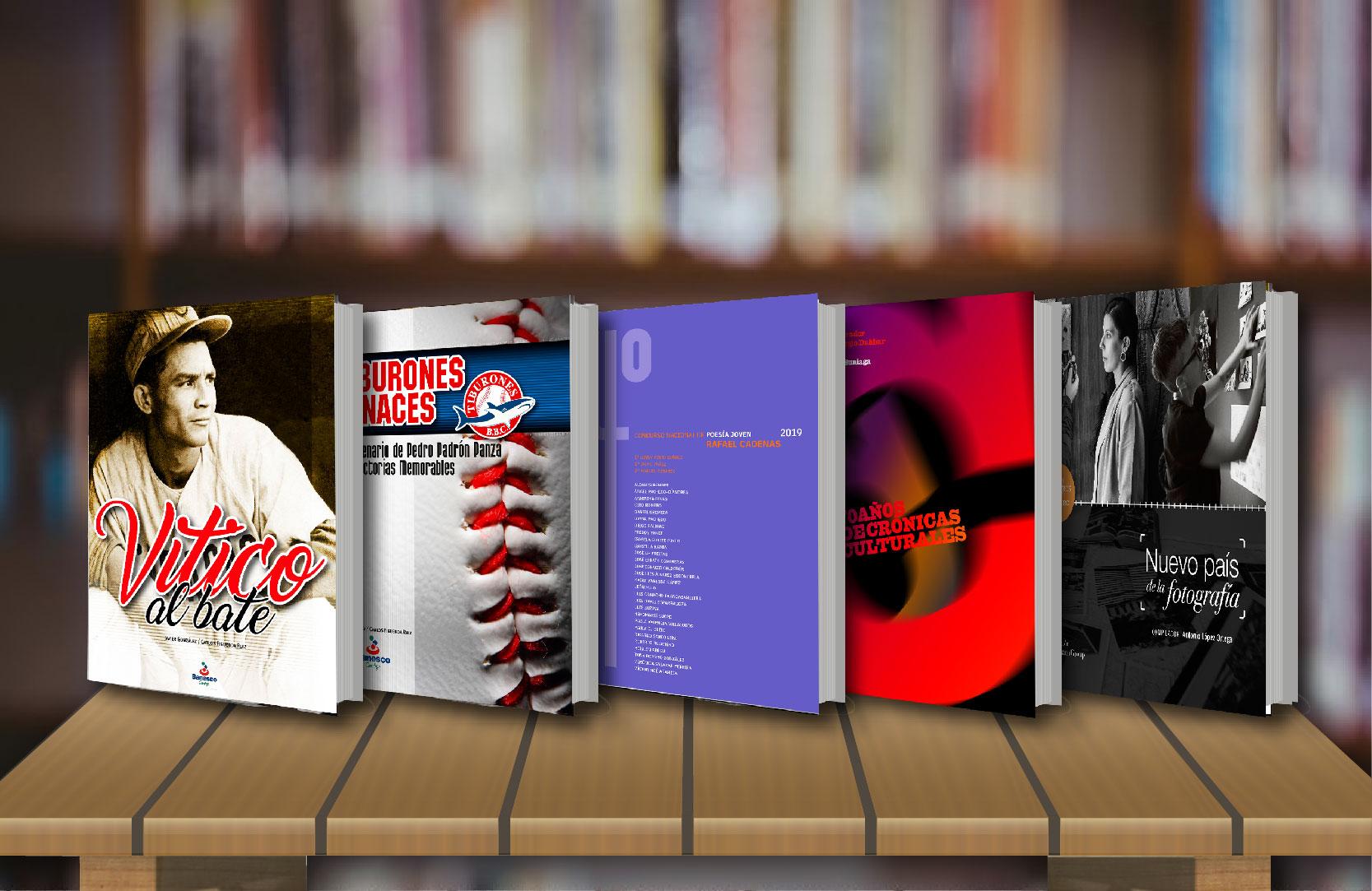 Cinco libros para la memoria de los Venezolanos