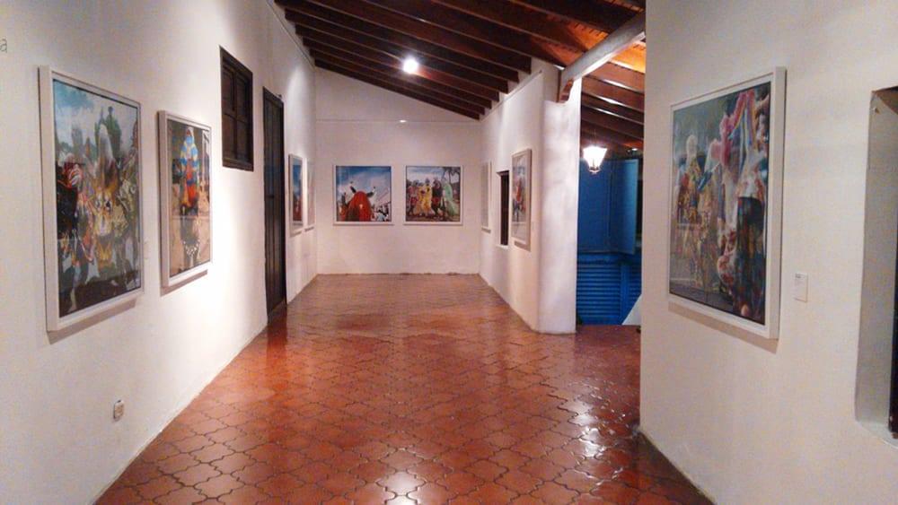 Exposición del lenguaje de los diablos en Centro Social y Cultural Don Henrique Antonio Eraso del Hatillo
