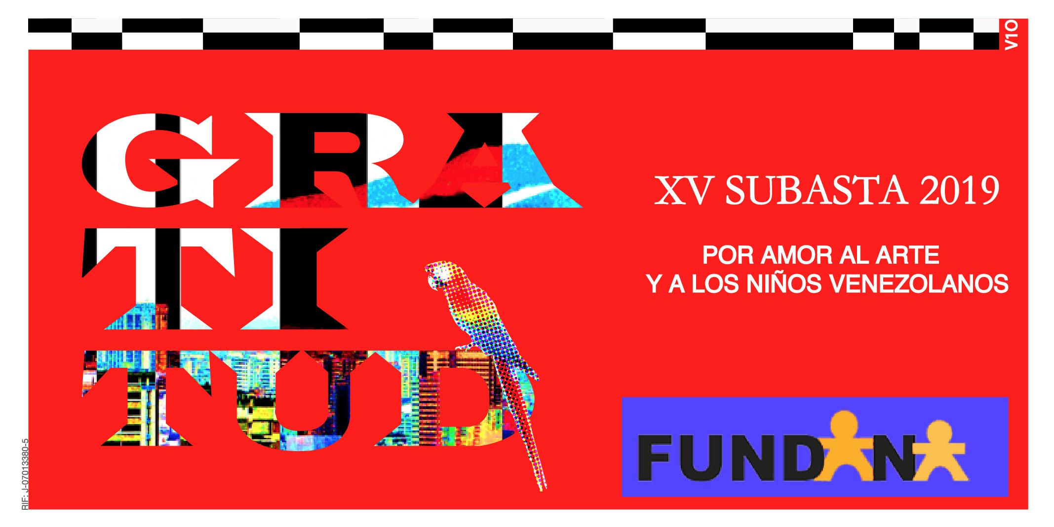XV Subasta Fundana