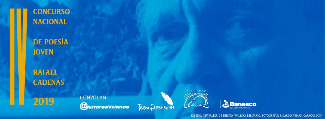 IV Concurso Nacional de Poesía Joven Rafael Cadenas ya tiene sus ganadores