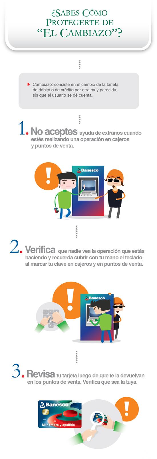 Protege tu tarjeta del cambiazo en cajeros automáticos